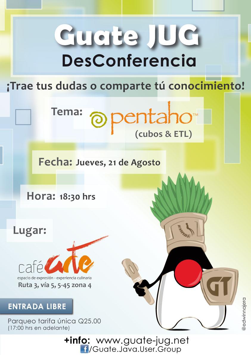 Desconferencia 3, Pentaho