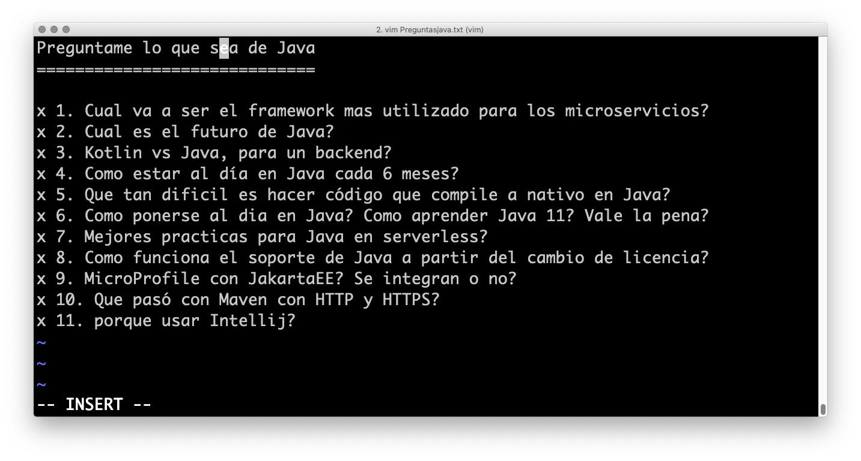 Meetup 2020.02 | Pregúntame lo que quieras de Java