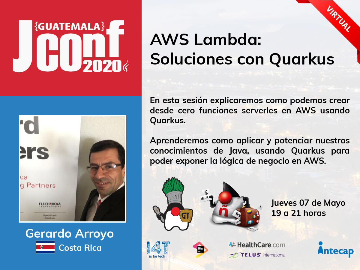Meetup virtual 2020.05 | AWS Lambda: Soluciones con Quarkus