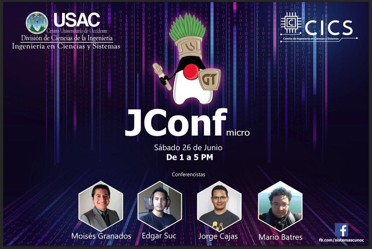 JConf Micro | La conferencia Java para estudiantes, principiantes e intermedios